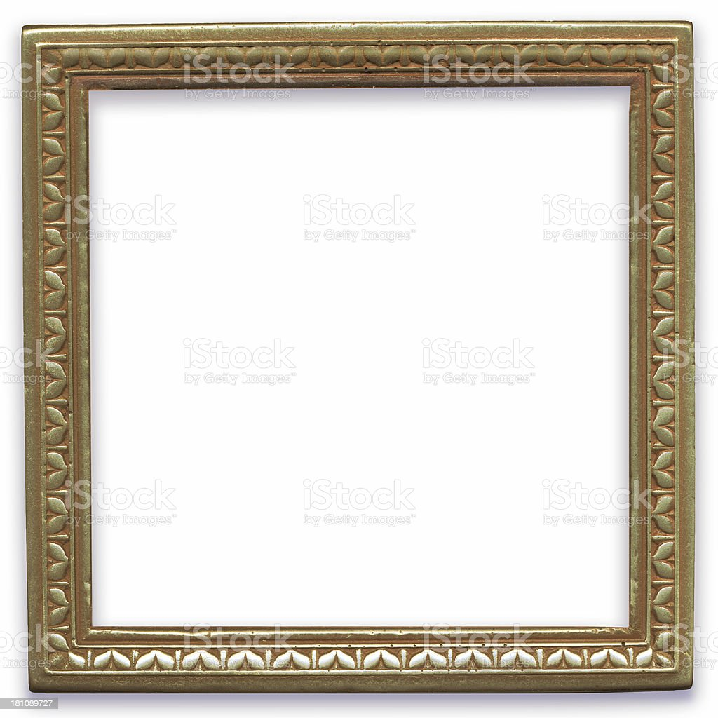 Square frame royalty-free stock photo