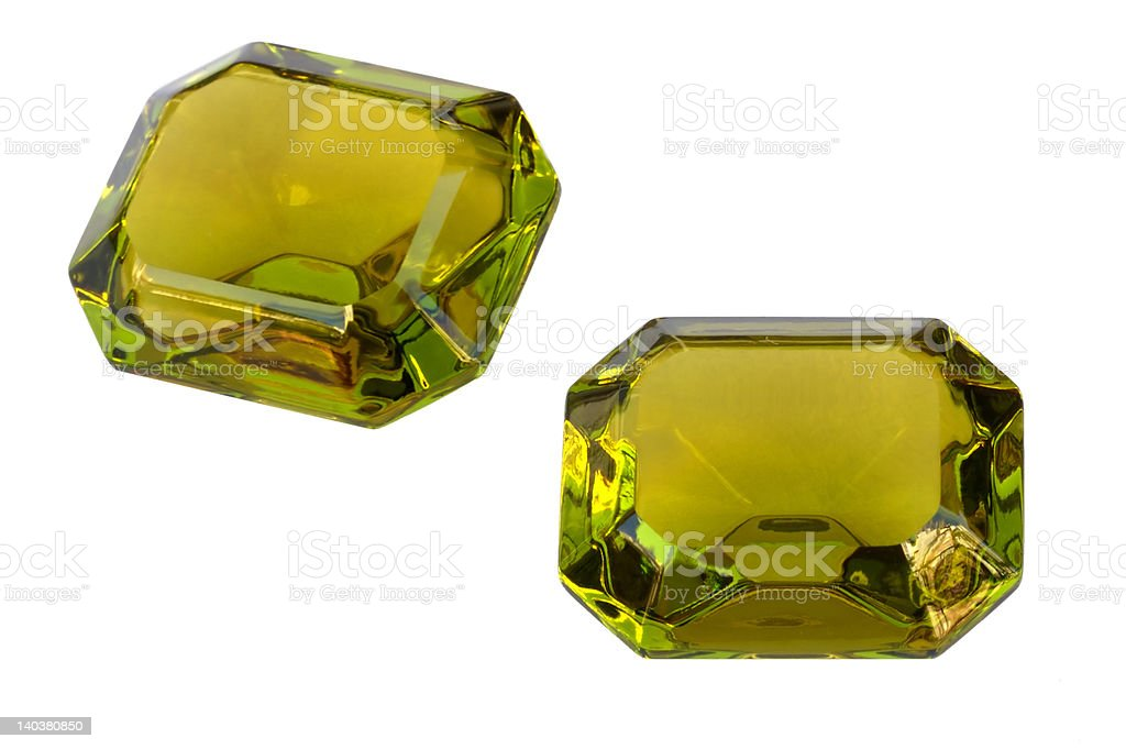 Square gem royalty-free stock photo