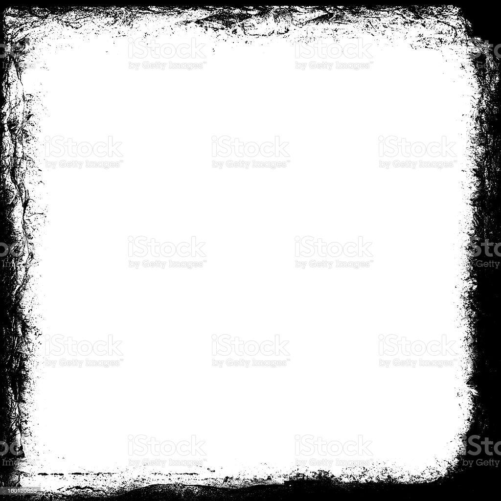 Square Grunge Frame stock photo