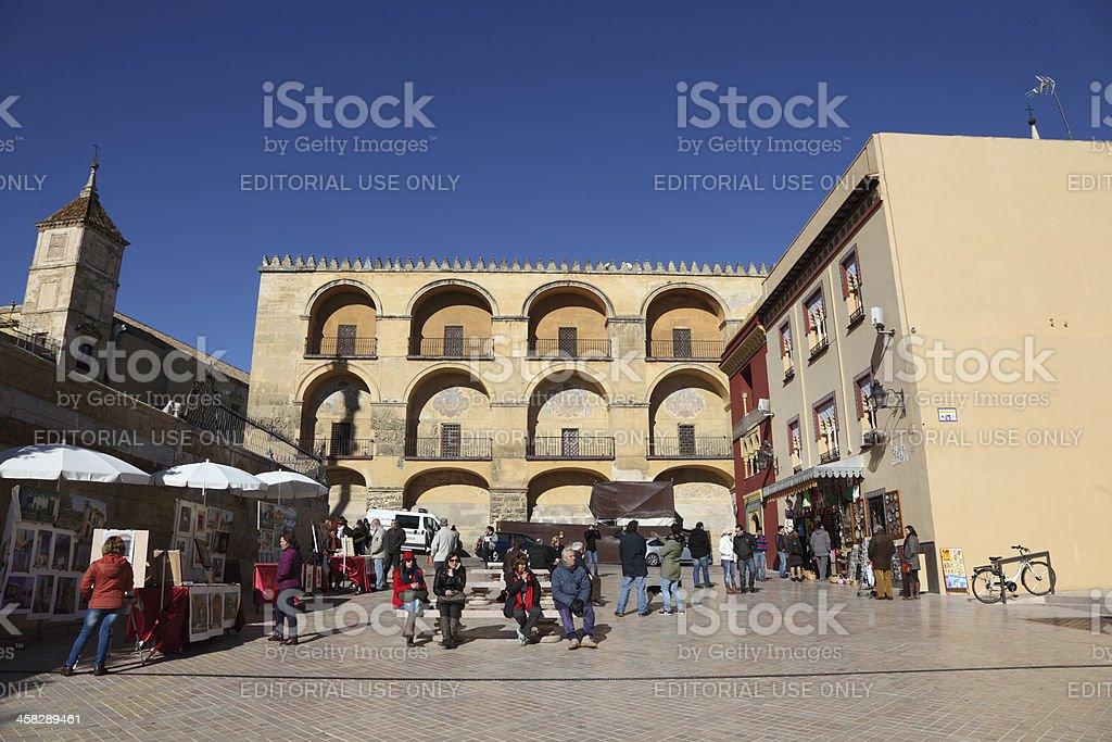 Square in Cordoba, Spain royalty-free stock photo