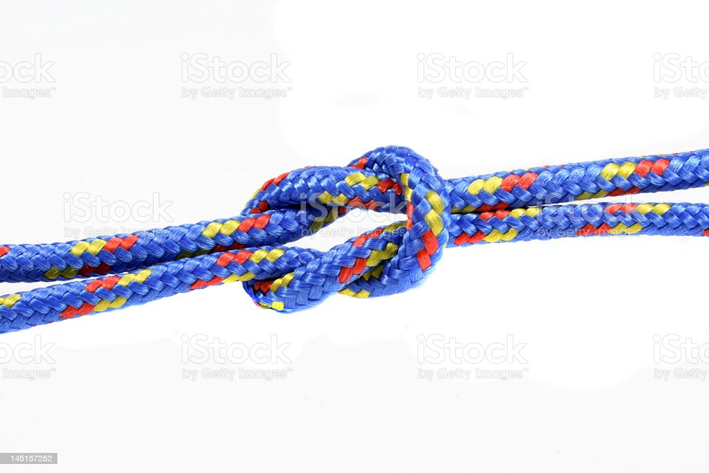 square knot stock photo