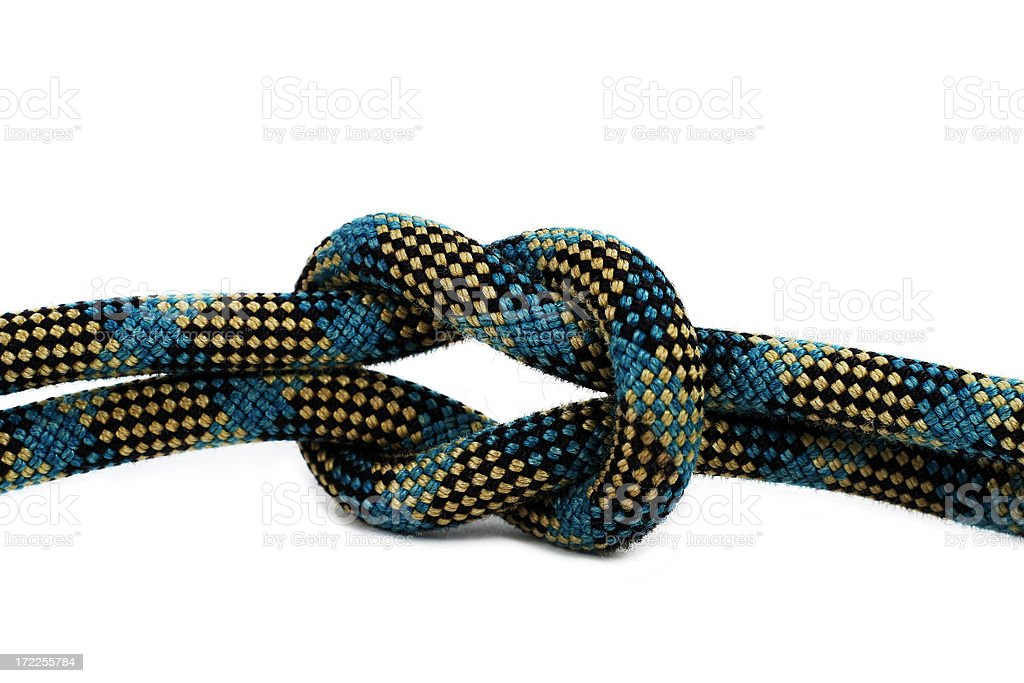 Square Knot royalty-free stock photo