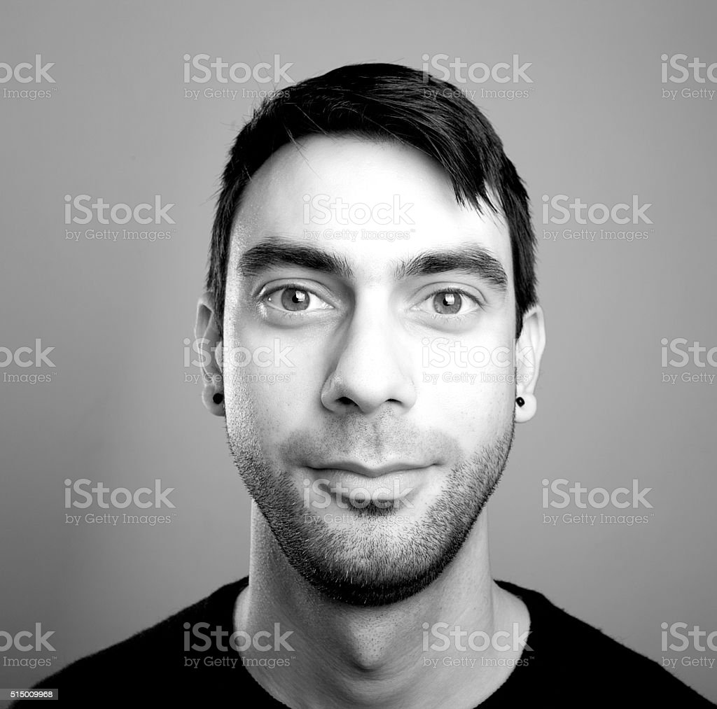 Square Men Portrait stock photo