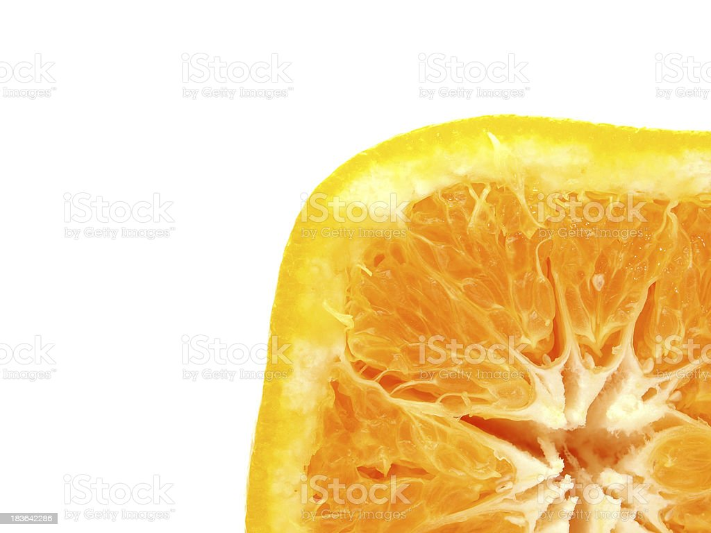 Square orange royalty-free stock photo