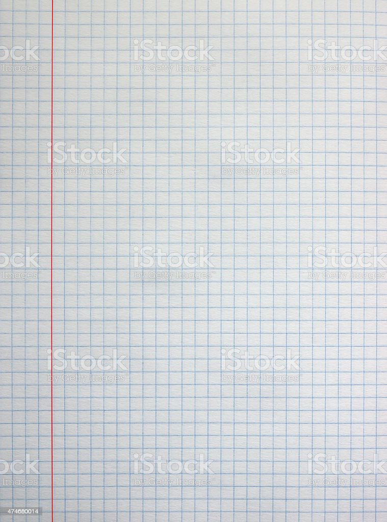Square paper sheet stock photo