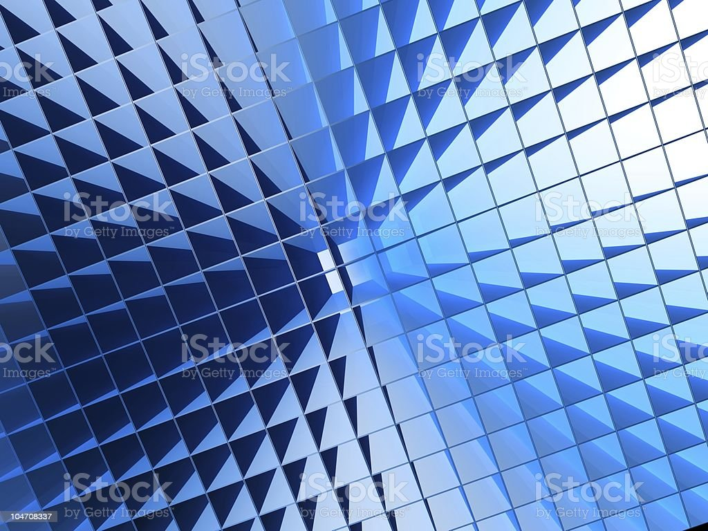 Square pattern lignthing effect background royalty-free stock photo