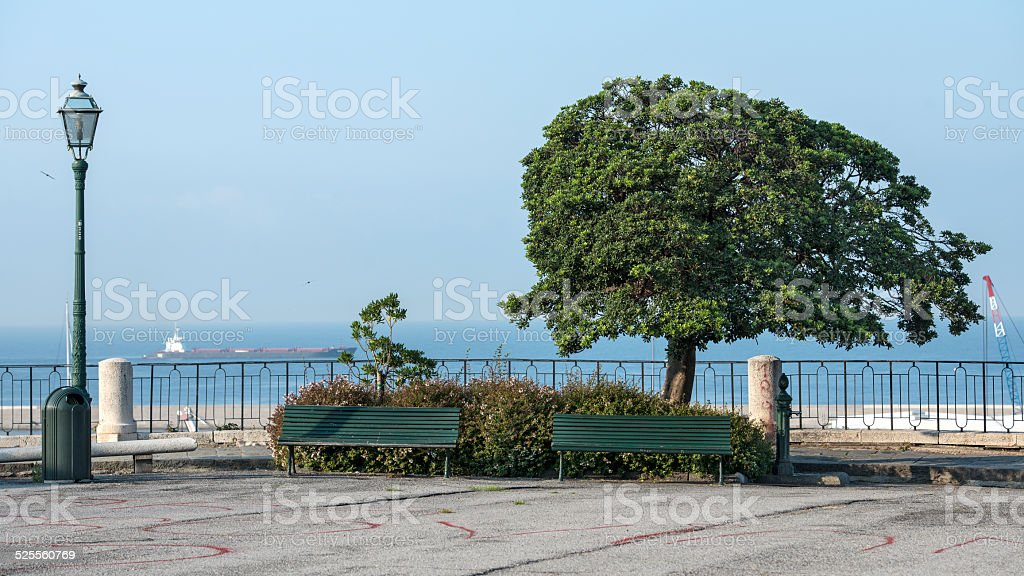 square San Francesco d'Assisi royalty-free stock photo