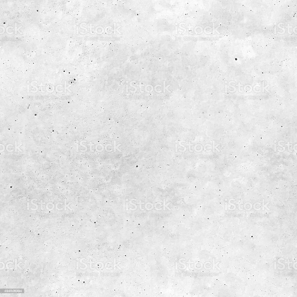 Square seamless unfinished light gray concrete surface - texture background stock photo