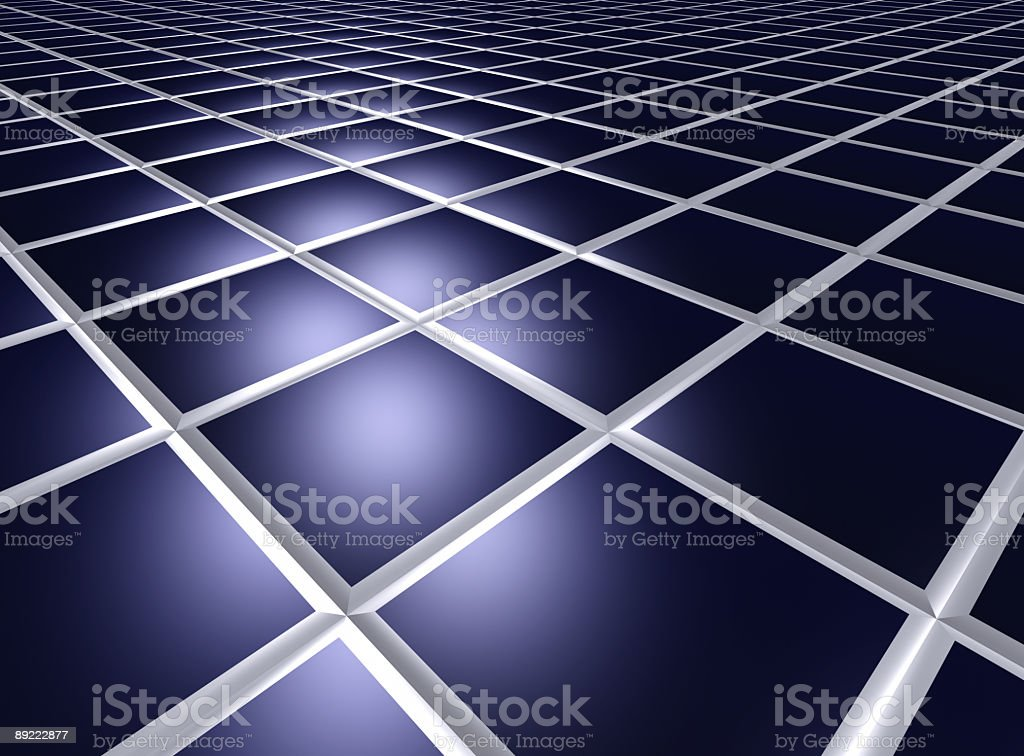 Squared perspective abstract background royalty-free stock photo