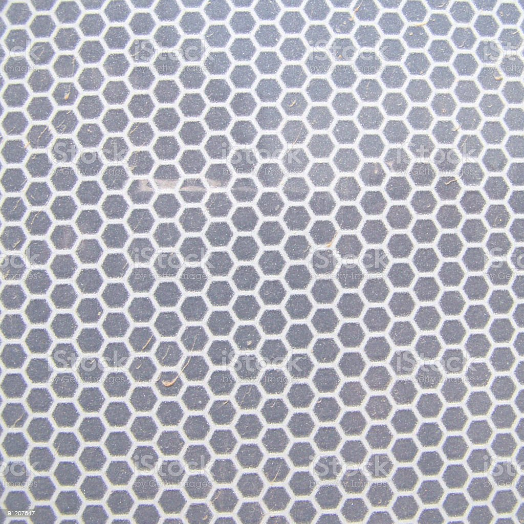 Squared reflector texture royalty-free stock photo