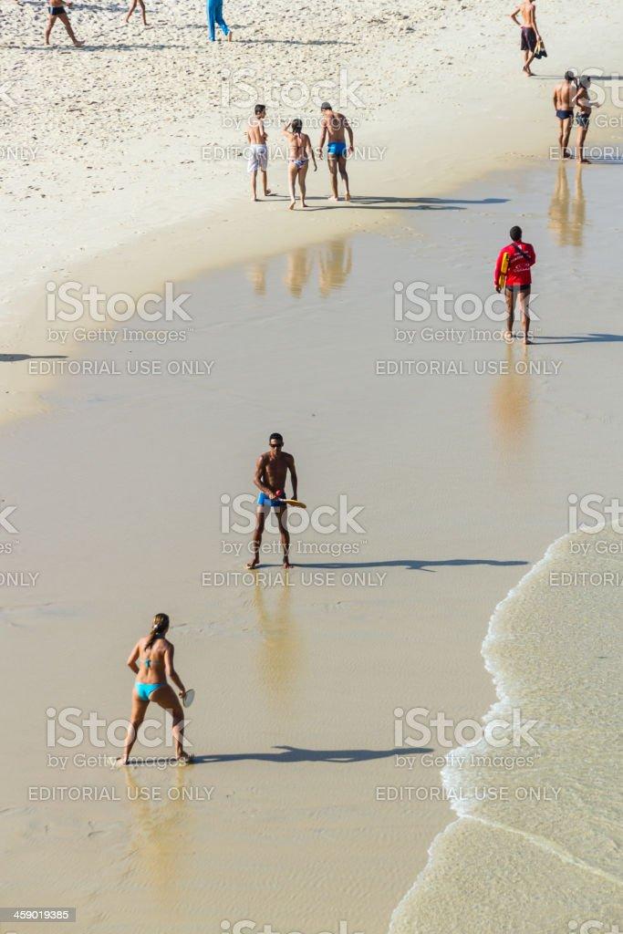 Squash at the beach royalty-free stock photo