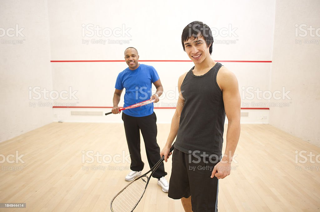 squash buddies royalty-free stock photo