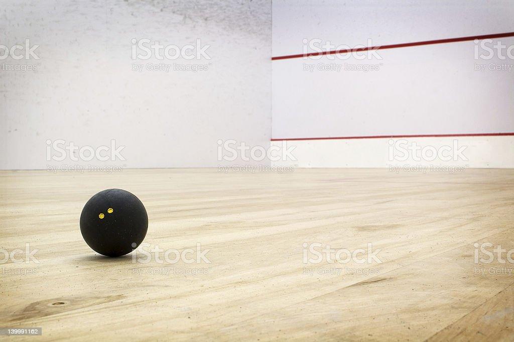 Squash court royalty-free stock photo