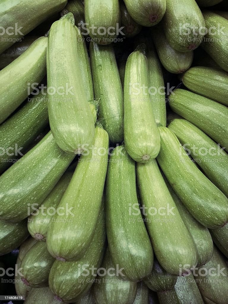 Squash in market royalty-free stock photo