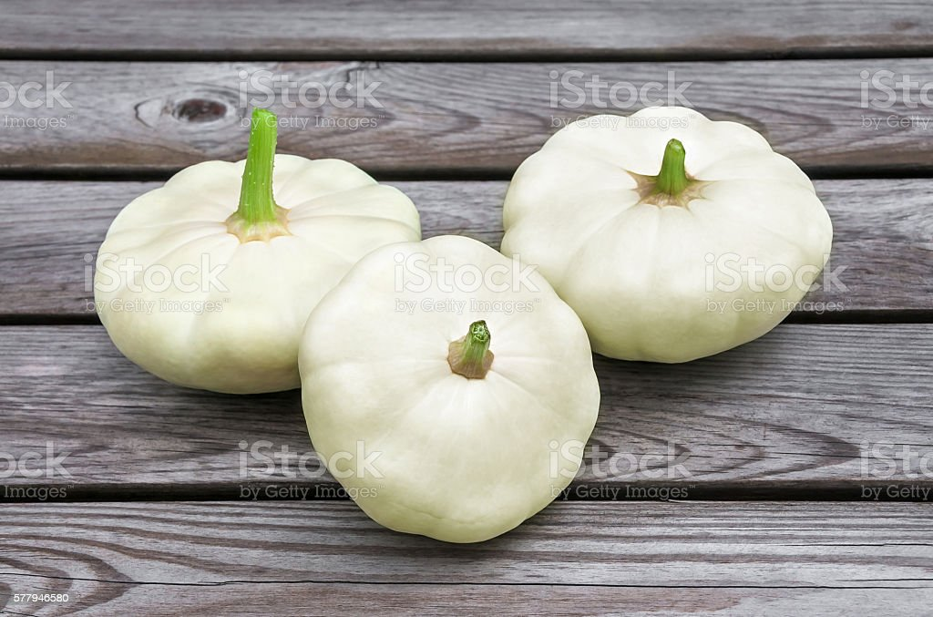 Squash  on wooden table stock photo