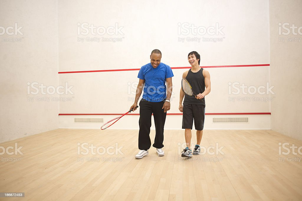 squash pals stock photo