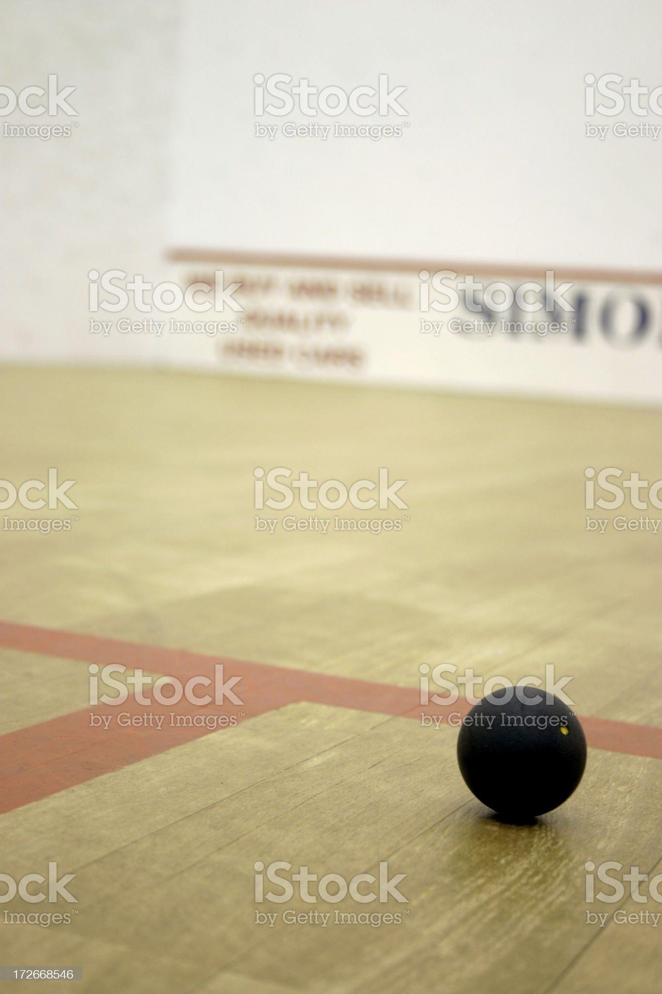 Squash_ball2 royalty-free stock photo