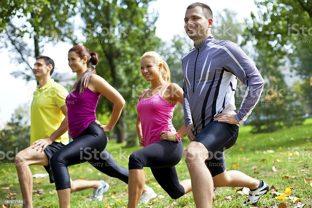 Squats royalty-free stock photo