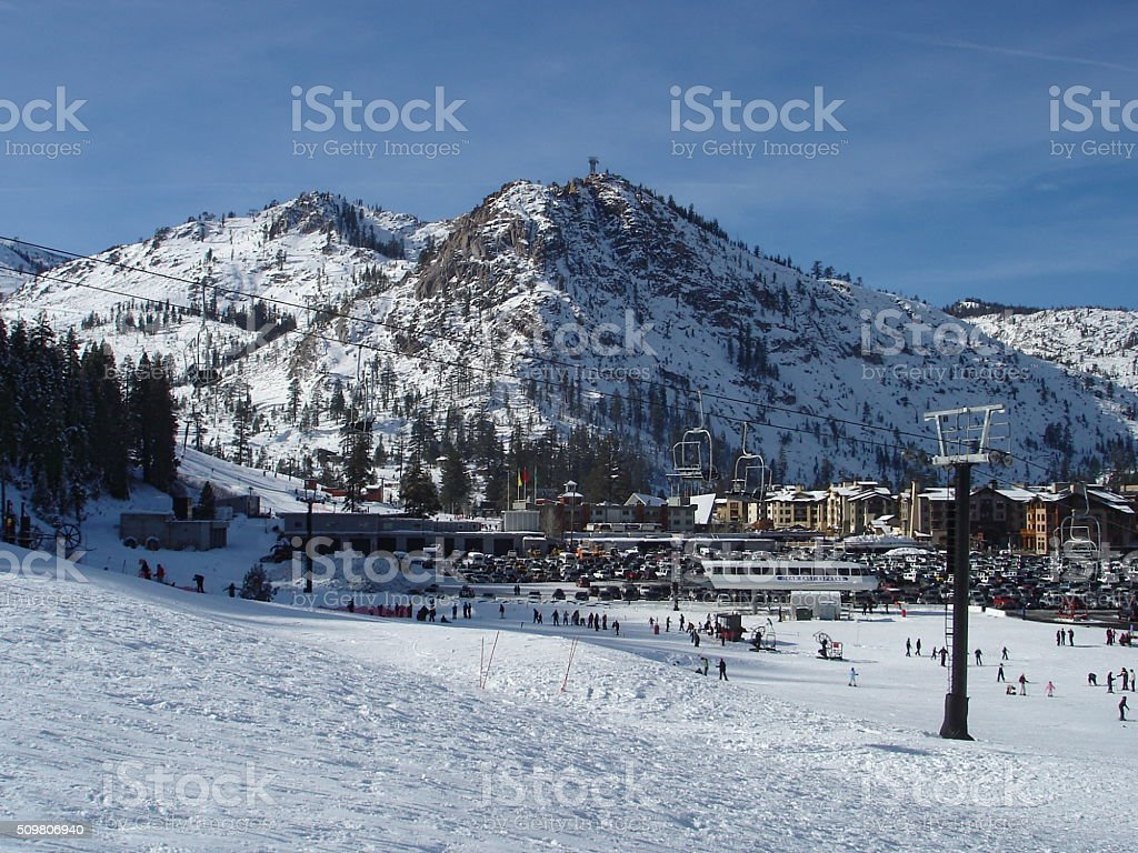 Squaw Valley, California stock photo