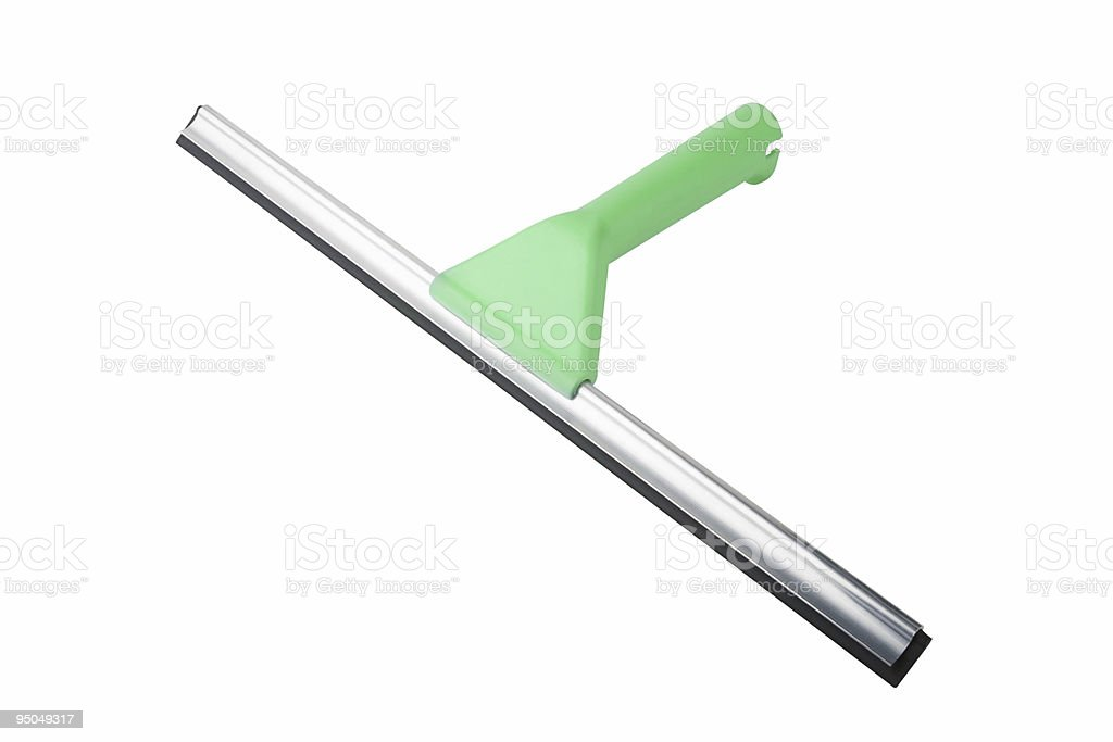 Squeegee royalty-free stock photo
