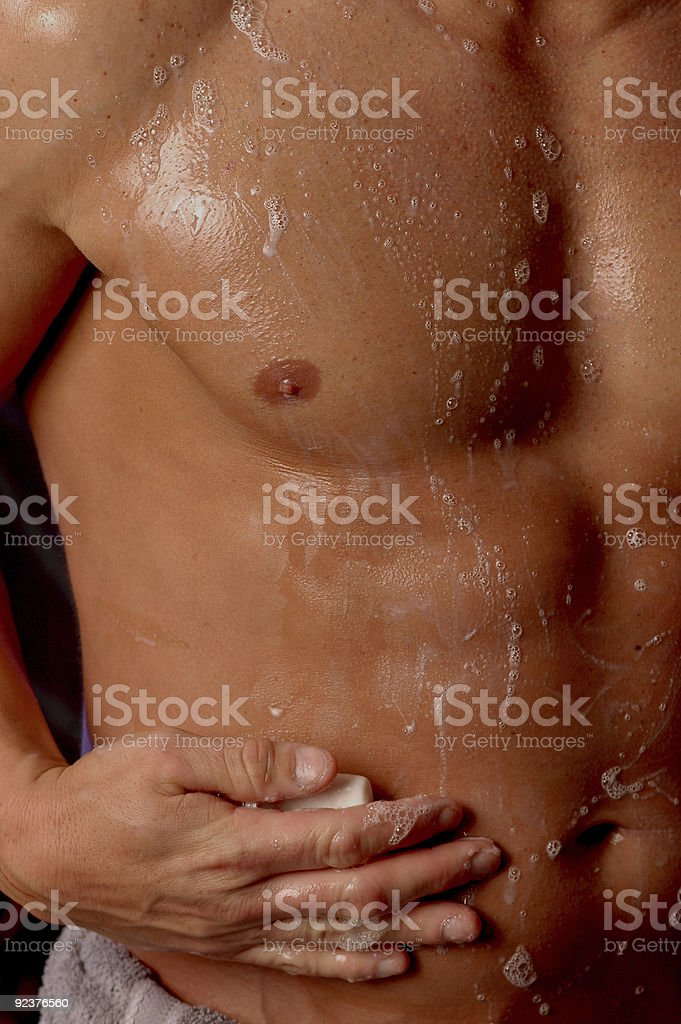squeeky clean stock photo