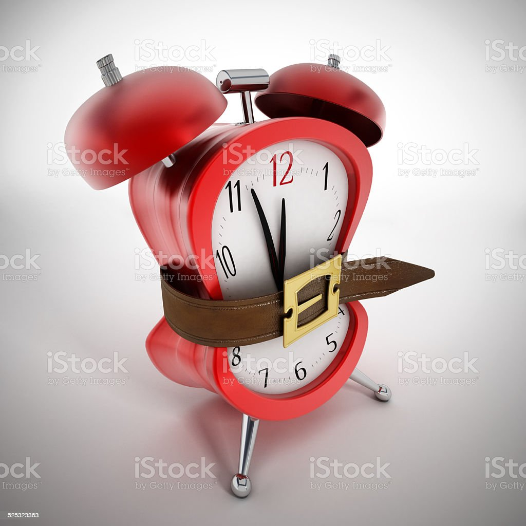 Squeeze the time stock photo