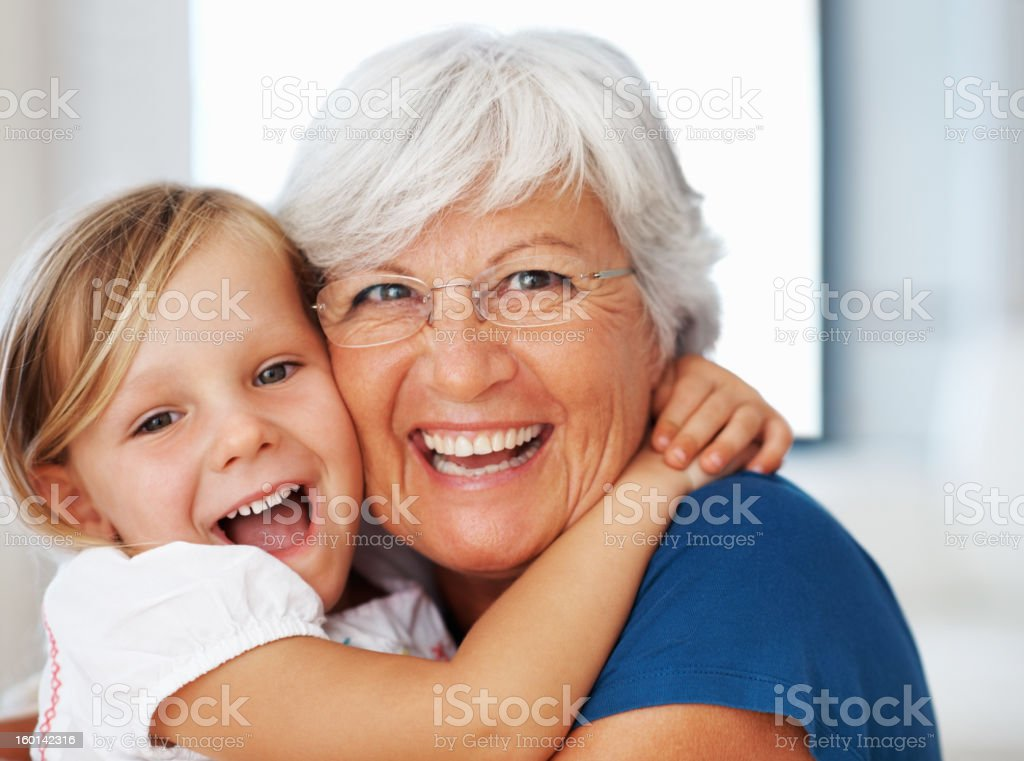 Squeezes for gran stock photo
