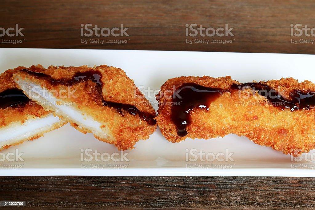 Squid fly stock photo