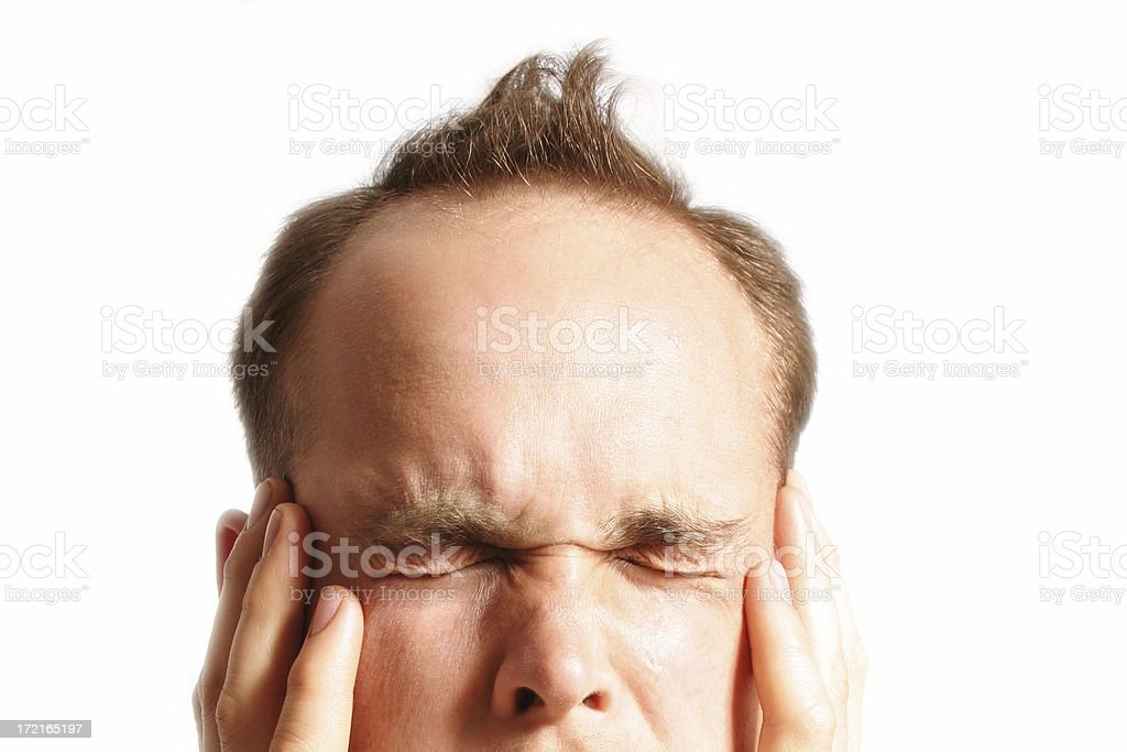Squint royalty-free stock photo