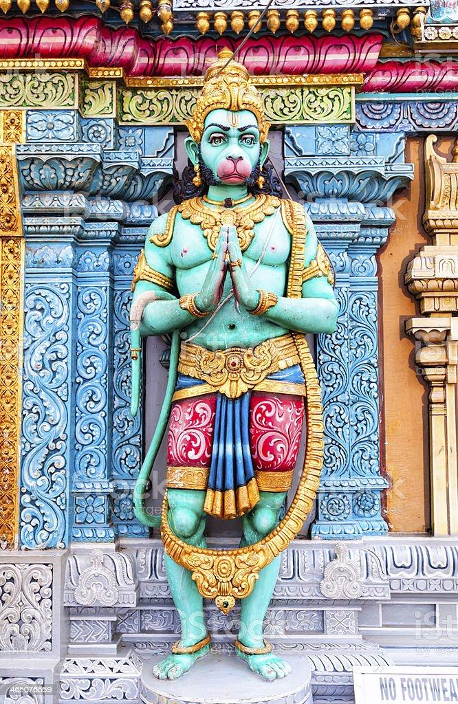Sri Krishnan Temple stock photo