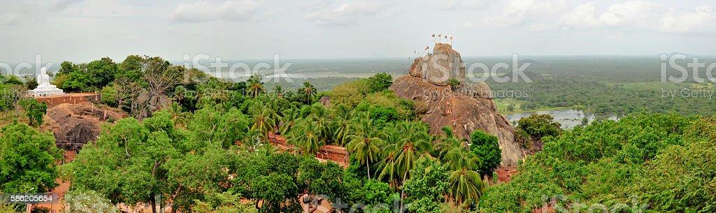 sri lanka anuradhapura stock photo