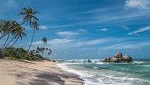 Sri Lanka. Indian Ocean Beach