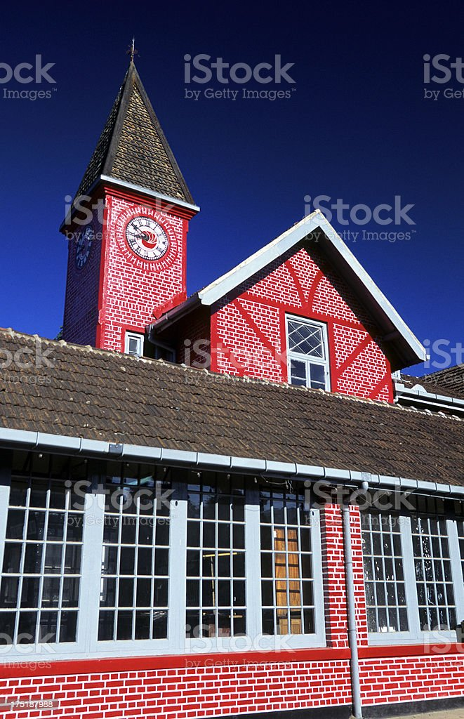Sri Lanka, Nuwara Eliya, post office. royalty-free stock photo