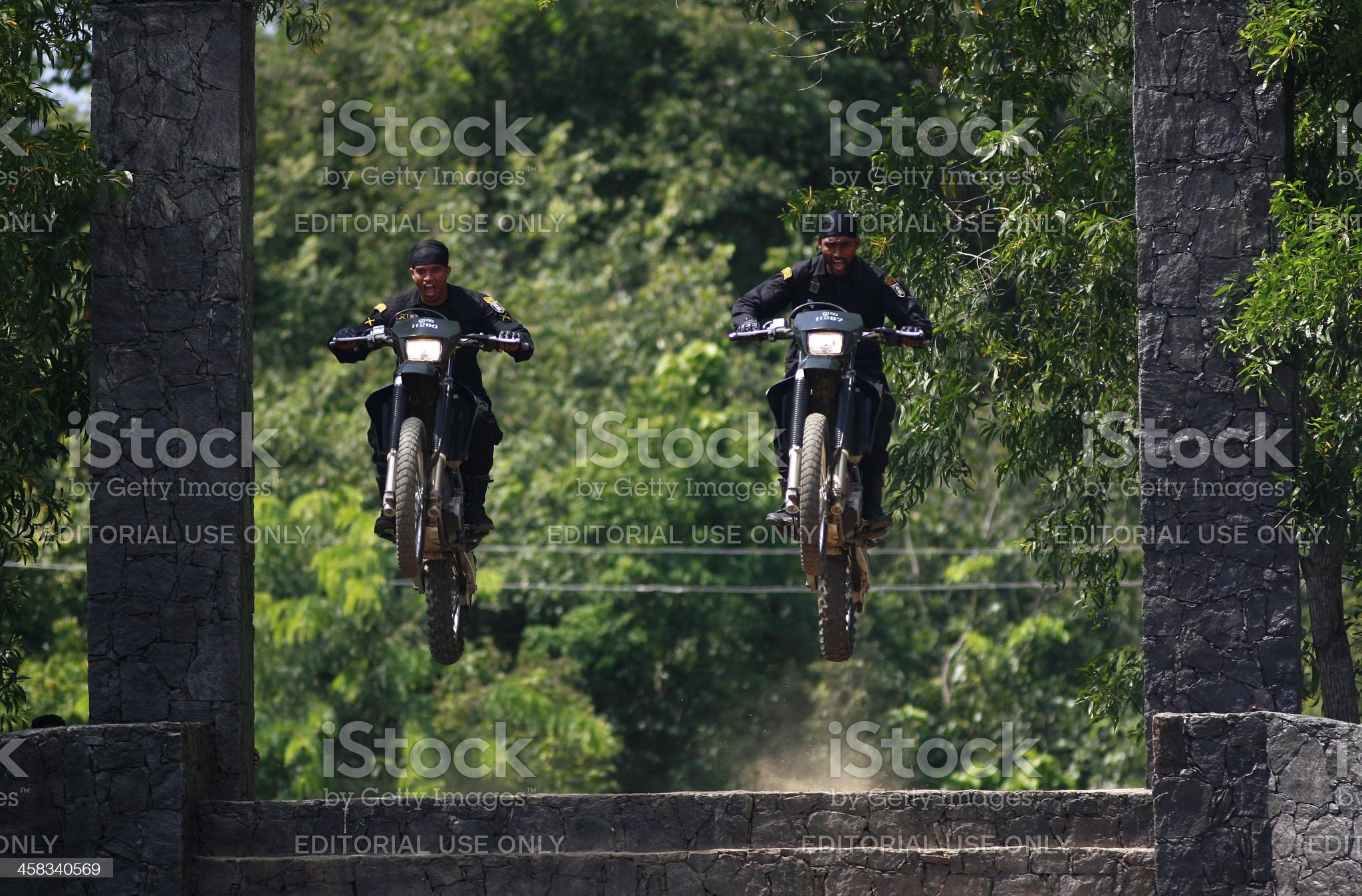 Sri Lankan Special Forces royalty-free stock photo