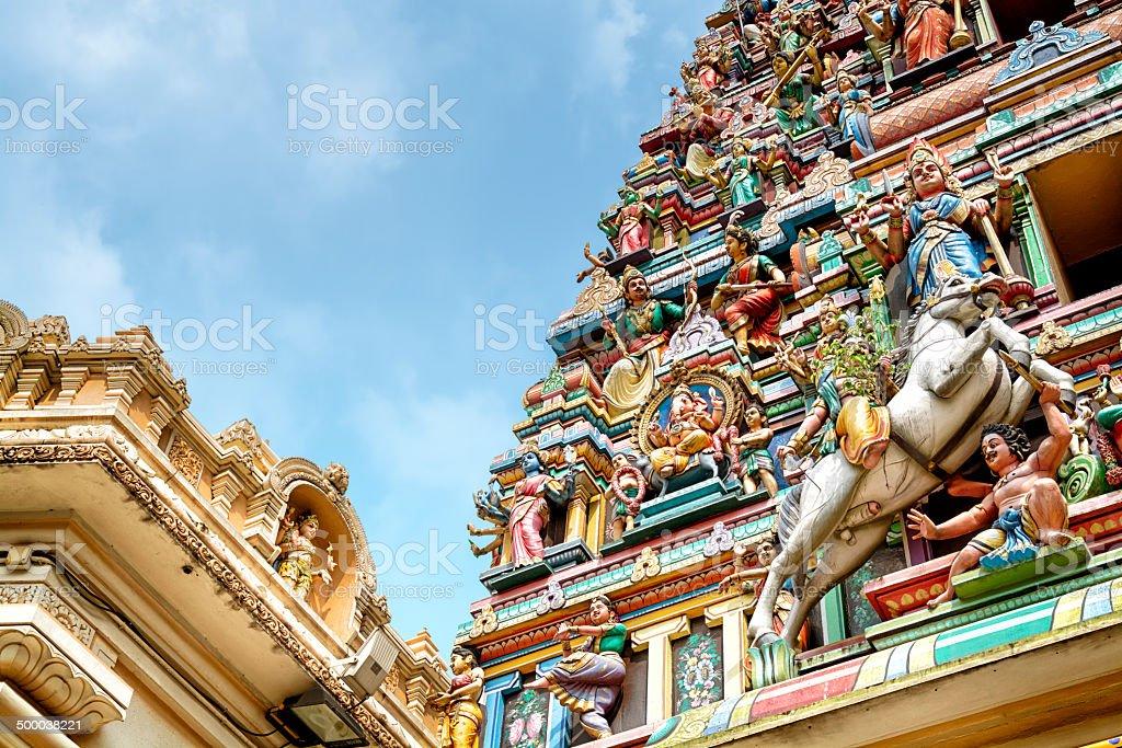 Sri Mahamariamman Temple, Kuala Lumpur - Malaysia stock photo