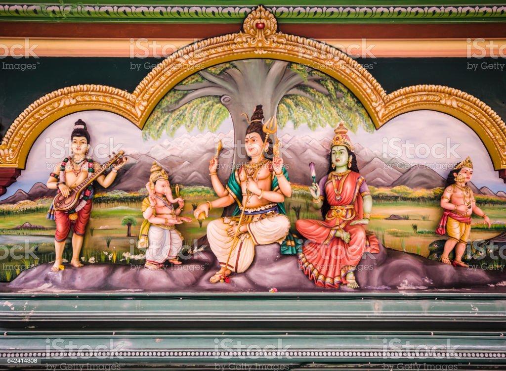 Sri Mahamariamman temple Kuala Lumpur stock photo