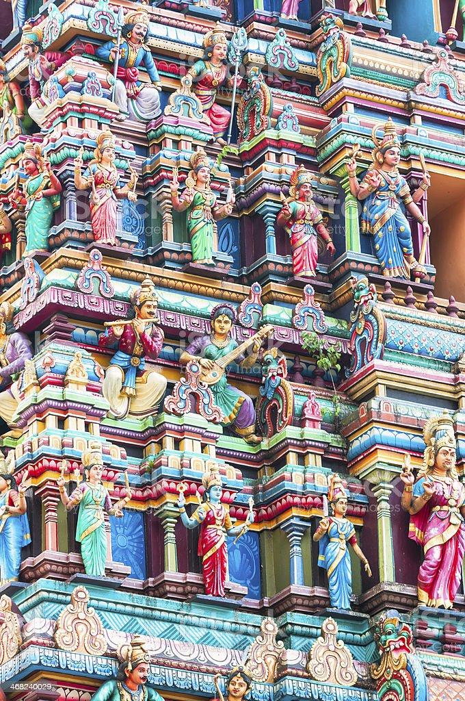 Sri Mahamariamman Temple stock photo