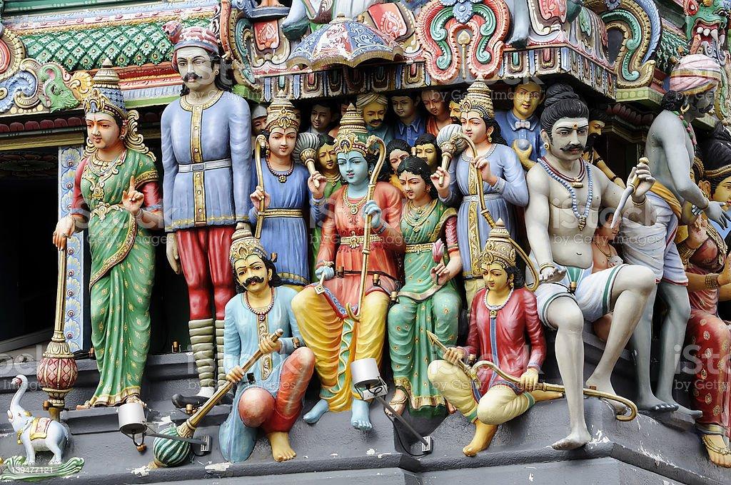 Sri Mariamma temple royalty-free stock photo