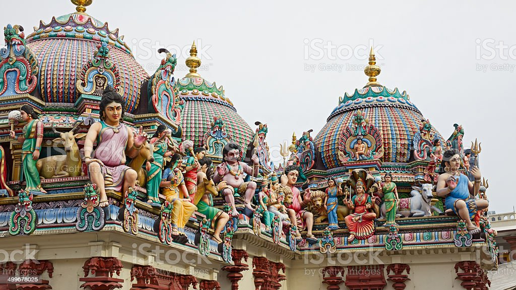 Sri Mariamman Temple royalty-free stock photo