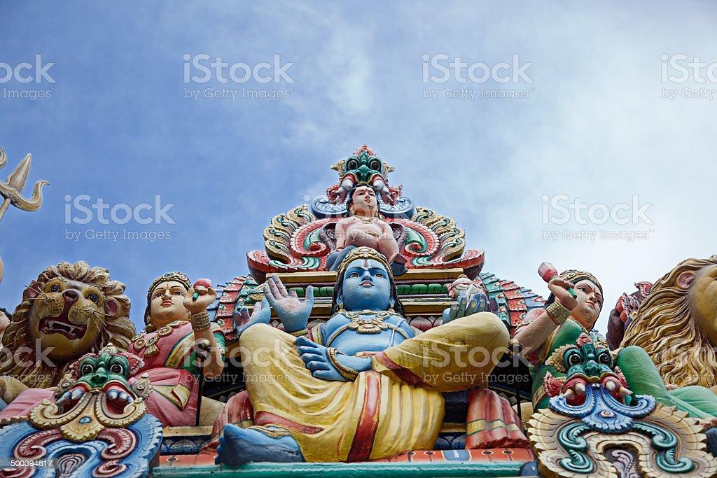Sri Mariamman Temple stock photo