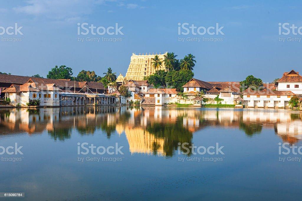Sri Padmanabhaswamy temple in Trivandrum Kerala India stock photo