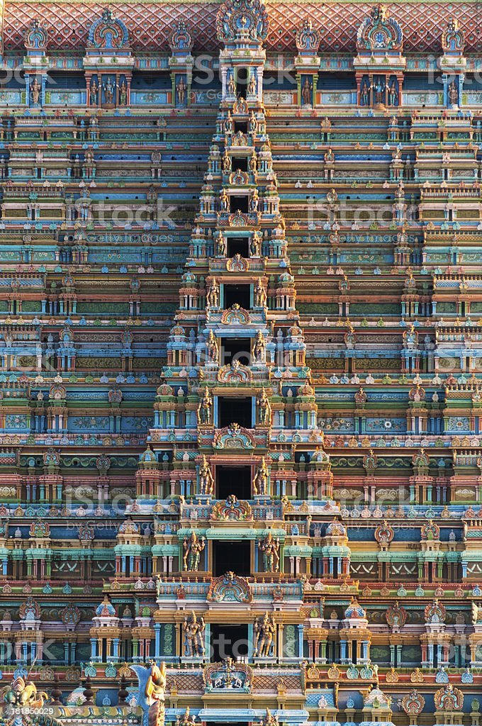 Sri Ranganathaswamy Temple, Tamil Nadu, India stock photo