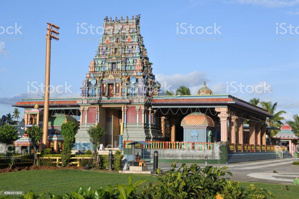 Sri Siva Subramaniya temple in Nadi, Fiji stock photo