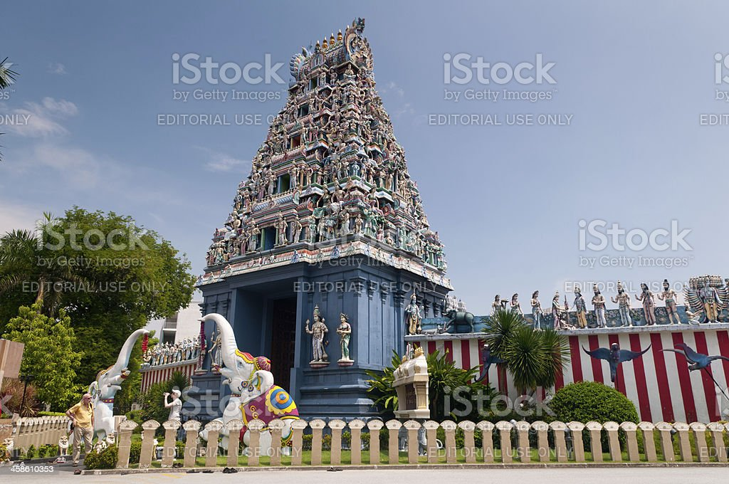Sri Srinivasa Perumal Temple stock photo