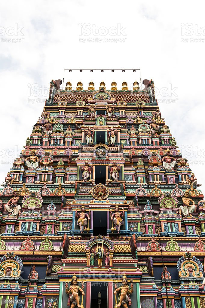 Sri Varadaraja Perumal temple, Puducherry, Tamil Nadu stock photo