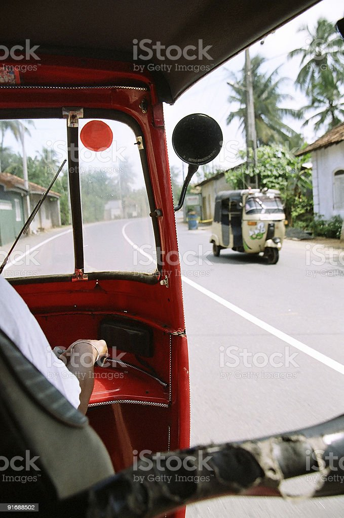 Sri-Lankan Rikshaw royalty-free stock photo
