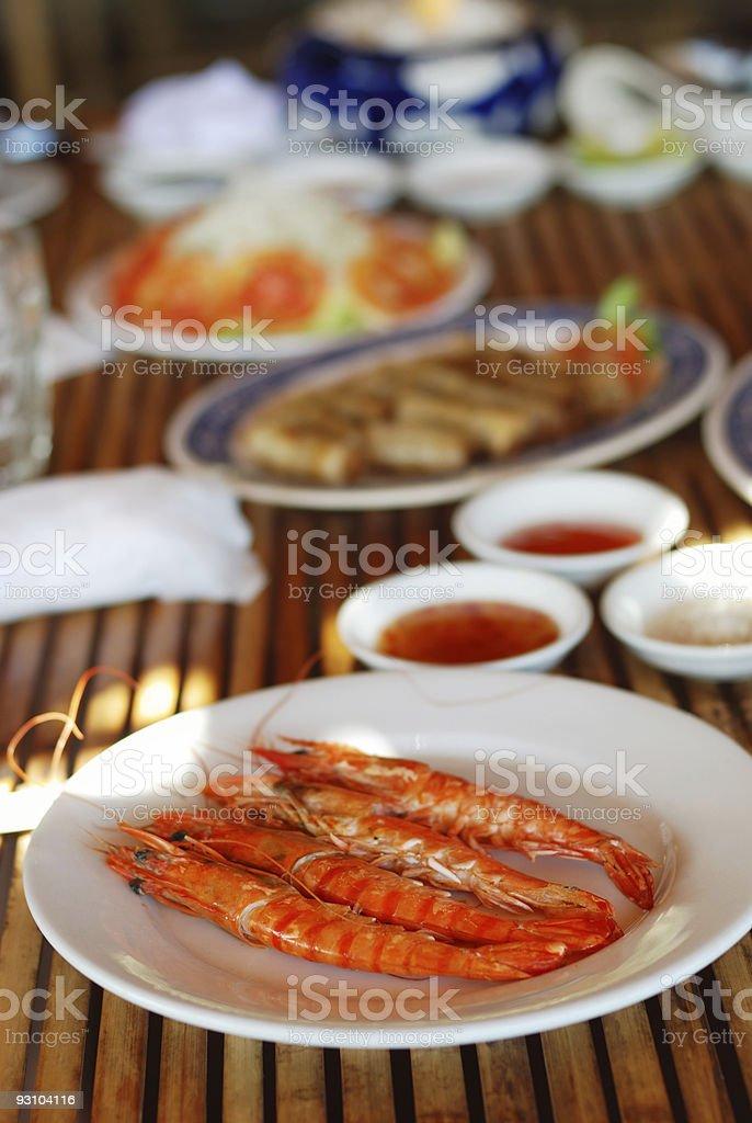 Srimps stock photo