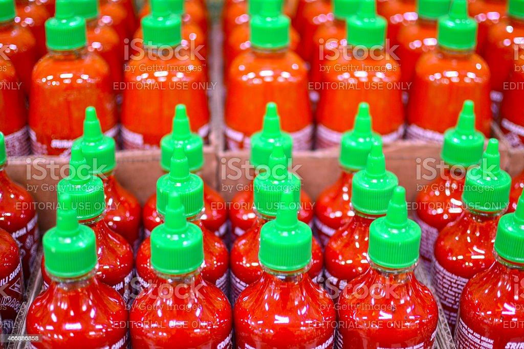 Sriracha Army stock photo