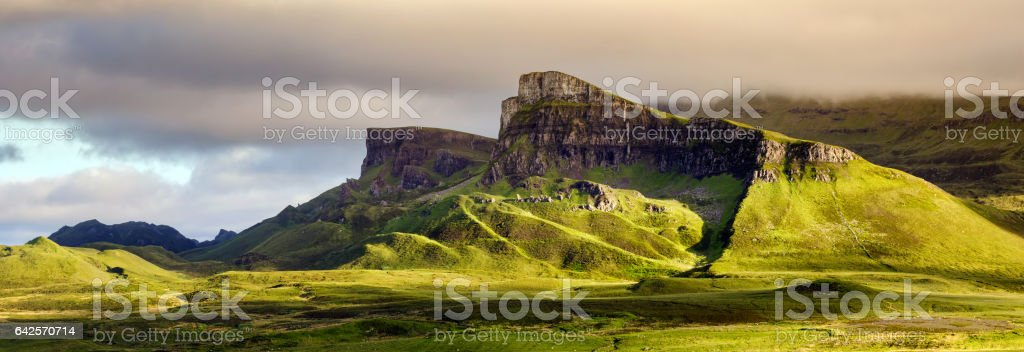 Sron Vourlinn stock photo