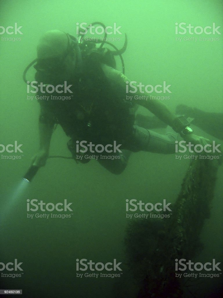 ss new york wreck dive subic bay royalty-free stock photo